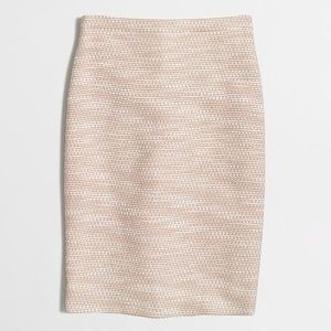 JCrew Tweed Pencil Skirt
